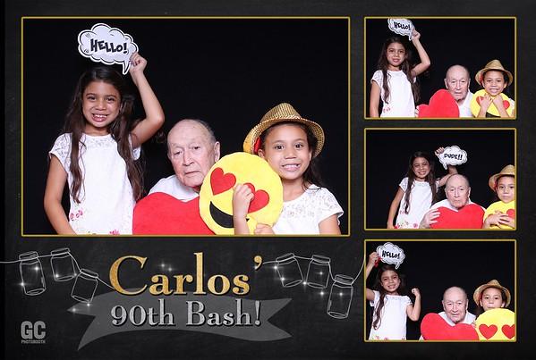 Carlos 90th Bash