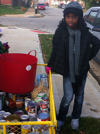 2011 JVL Thanksgiving Canned Food Drive