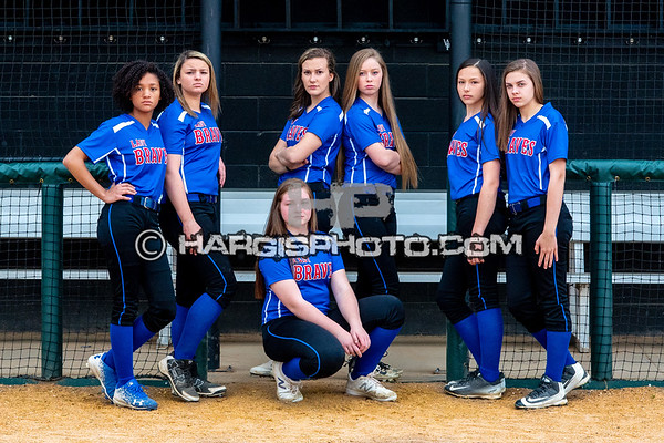 Lady Braves Softball 2018