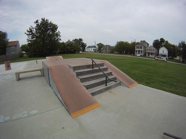 2011, Cape Charles Skatepark, Eastern Shore