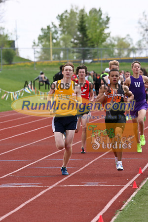 2014 MHSAA Region 3-1 B3200m Relay