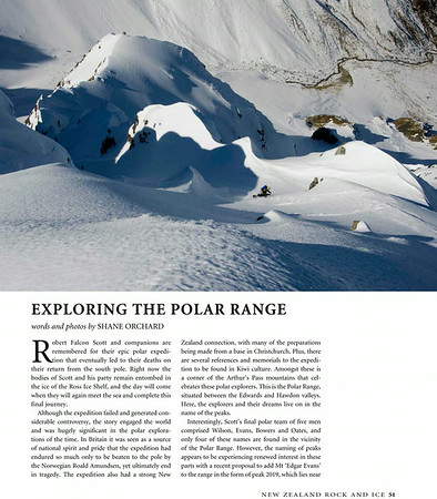 Exploring the Polar Range