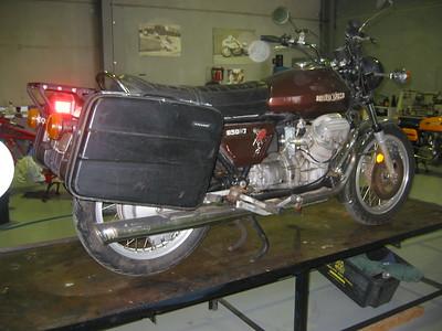 Moto Guzzi 850 T Cafe.