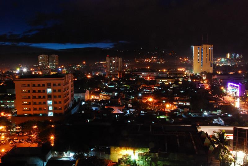 Cebu at night