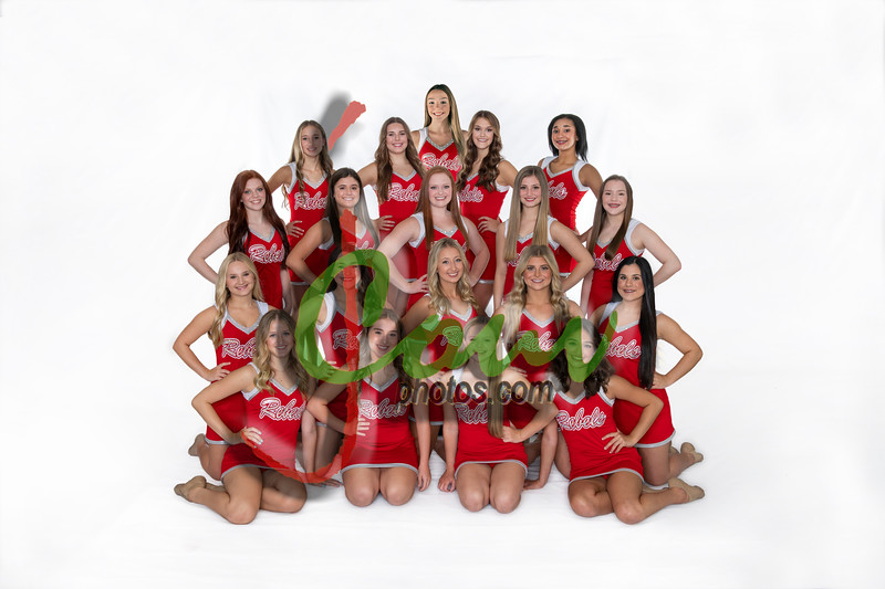2020-21 Dance Team Pictures