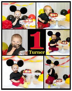 Turner's 1 Year Portraits