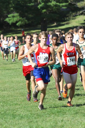 Varsity Boys Cross Country at Seminole Valley 9/8/16