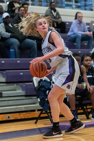 Broughtongirls JV basketball vs Millbrook. February 14, 2019. 750_6989