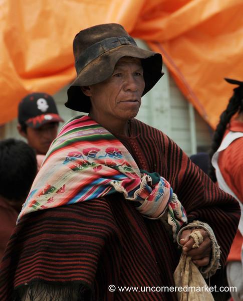 Off to the Weekly Market - Tarabuco, Bolivia