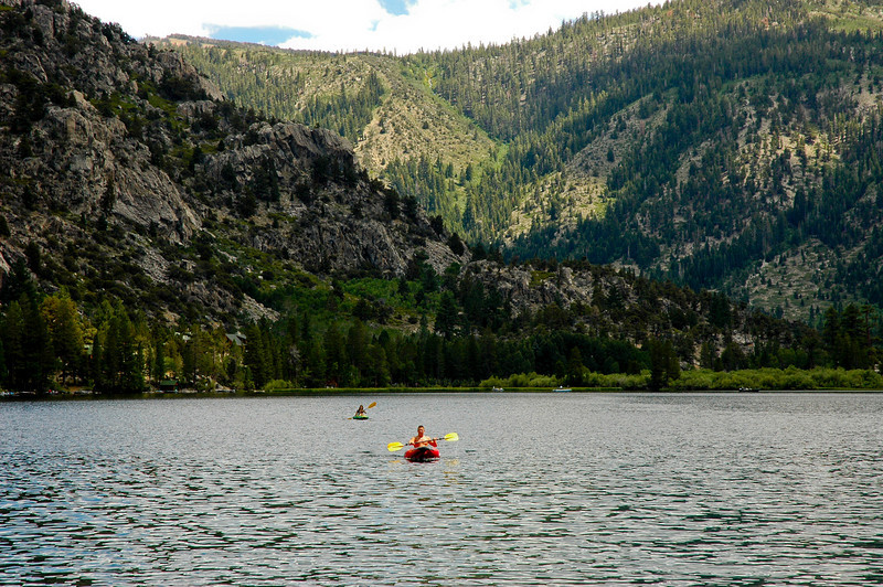 On the Silver Lake (w. el. 7,215ft)