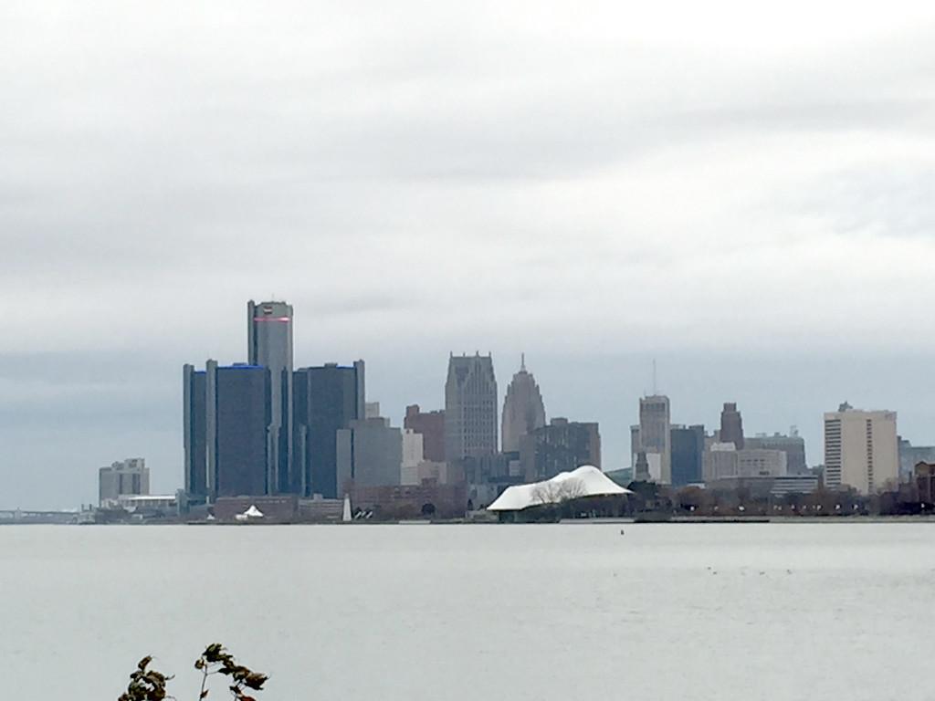 . Detroit skyline from Belle Isle. (Andrew Kidd/Digital First Media)