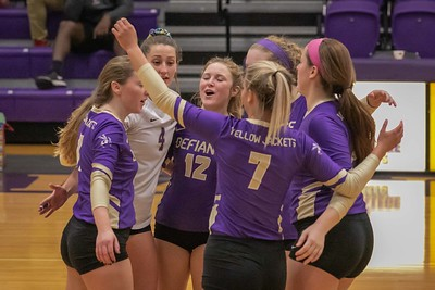 Defiance College Volleyball 10-23-2019