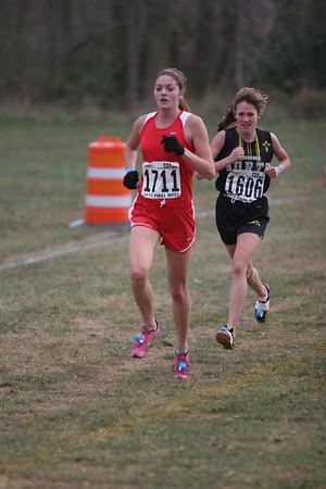 1.5 Miles Girls D3 - 2012 MHSAA XC Finals