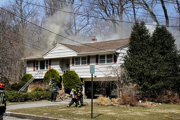 Park Ridge Second Alarm Fire Doxey Drive 3/24/19