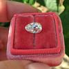 2.13ct Antique Pear Shape Diamond, GIA I, VS2 24