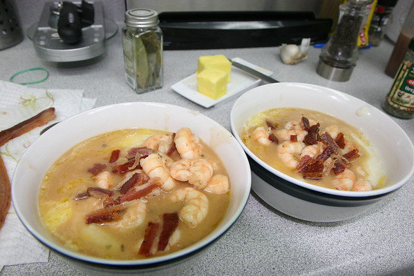 Dawn's Shrimp & Grits
