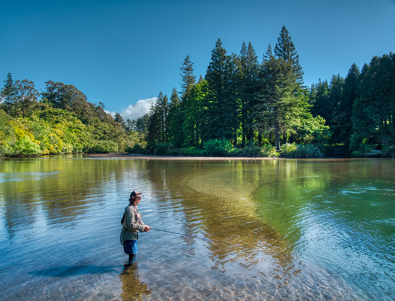 Harry Fishing in the Wild