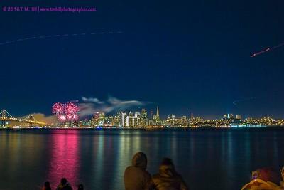2016 New Years San Francisco