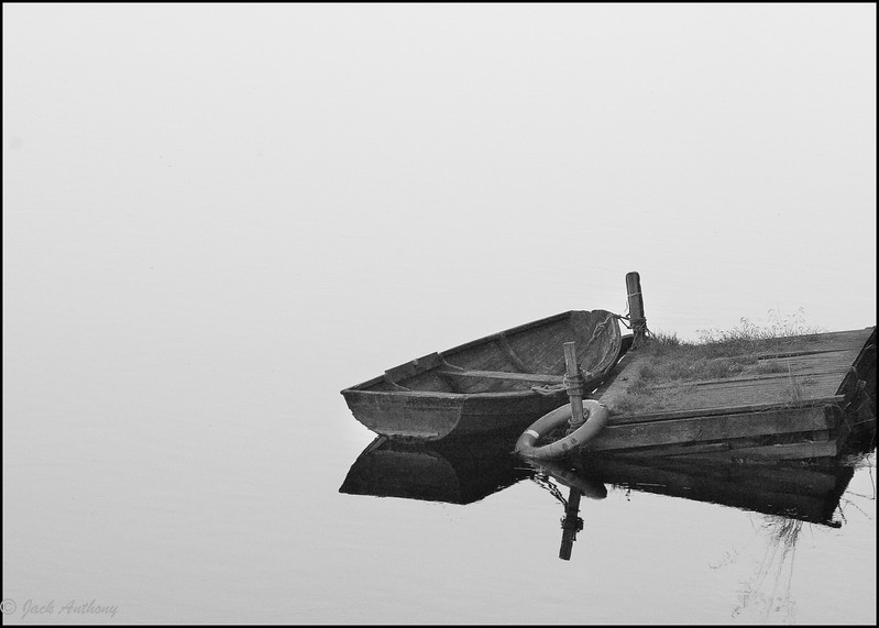 Boat in Still Water