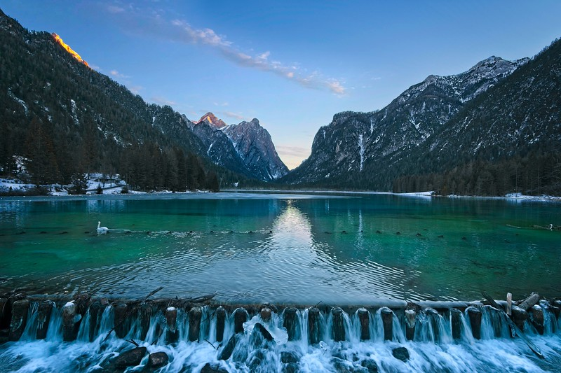 Dobbiaco Lake