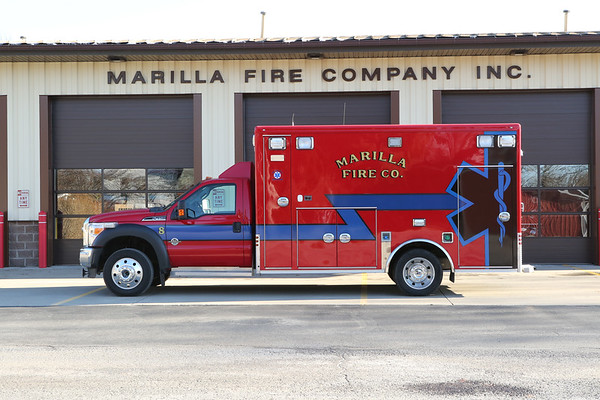 2019 Marilla  fire dept trucks