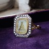 'Faithful & Firm' Yellow Chalcedony Ring, by Seal & Scribe 11