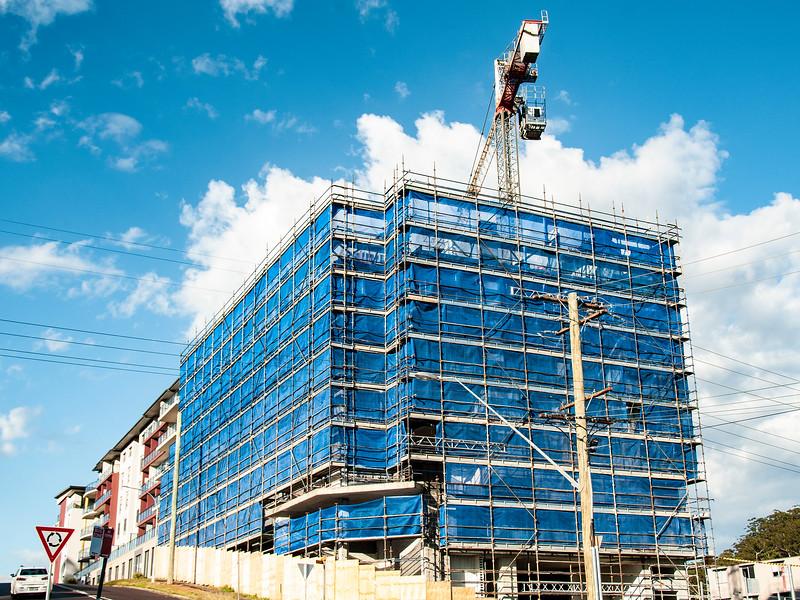 Building progress 136. At 47 Beane St. Gosford. September 2018.