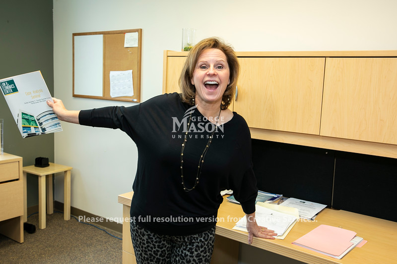 Paula Witt, Scalia Law School.  Photo by:  Ron Aira/Creative Services/George Mason University