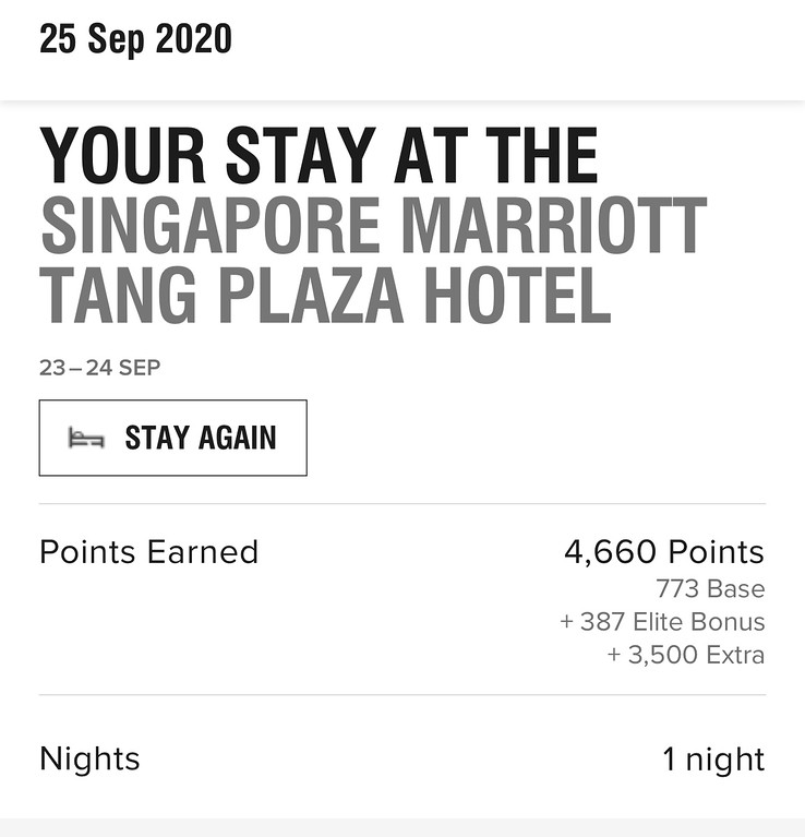 Yes. Day Stay earns Night and Points