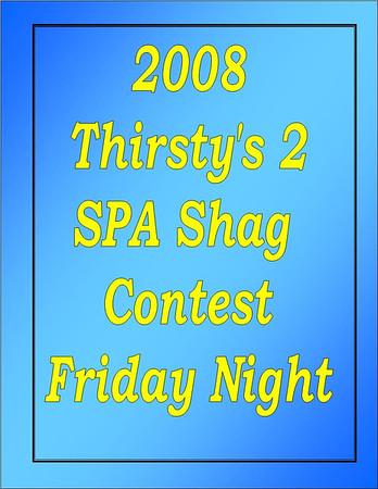 2008 Thirsty's 2 SPA Shag Contest