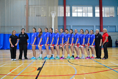 Netball Europe Open Challenge Cup Day 3