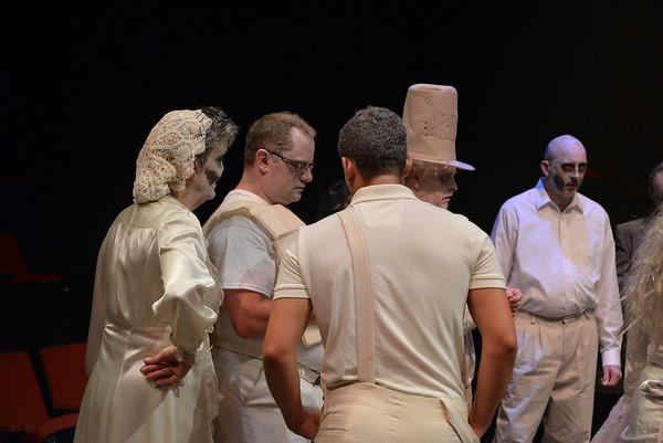 Carolina Voices - Impromptu Cast - Shake your Ghoul Thing at Carolinas Actors Studio Theatre in NODA