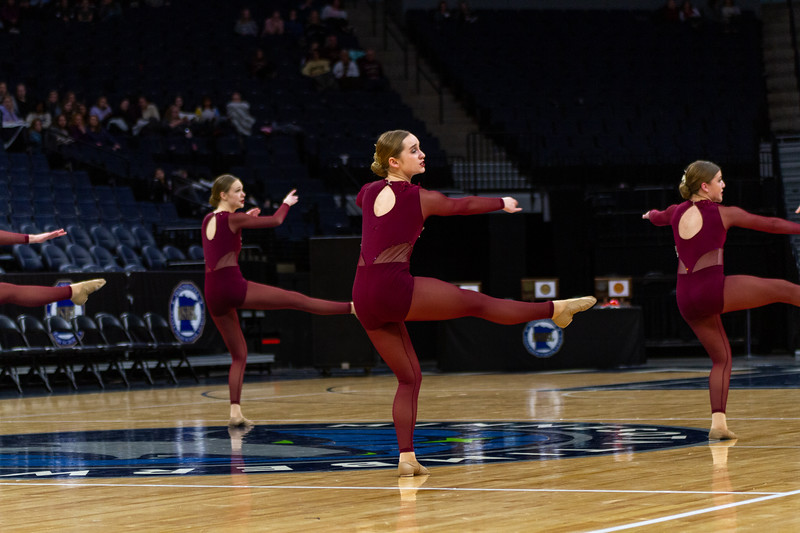 Holy Family's Elle Bernaski '21 at 2020 MSHSL State Jazz Tournament Final - Collin Nawrocki/The Phoenix