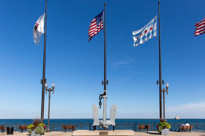 USS Chicago Anchor