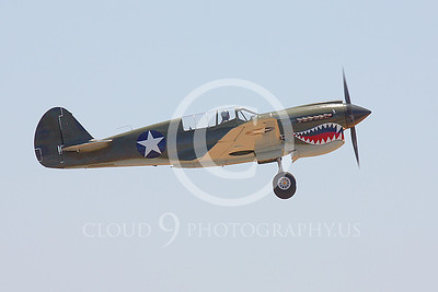Sharkmouth Curtiss P-40 Warhawk Airplane Pictures