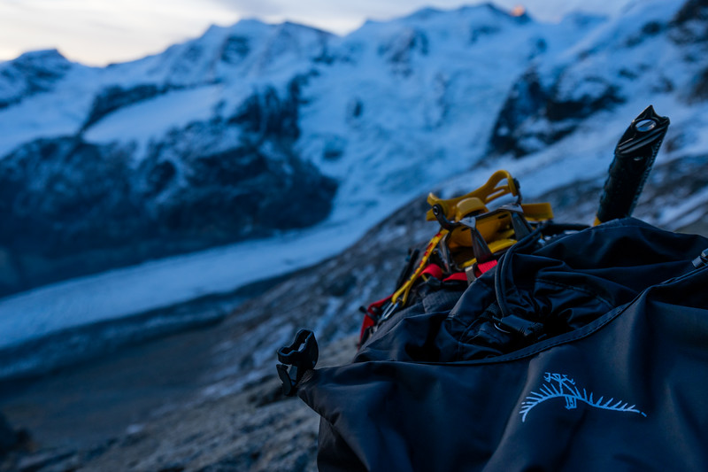 Piz Morteratsch, Switzerland (2017) On assignment for Páramo Clothing and Osprey Backpacks