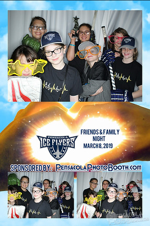 Ice Flyers Friends & Family Night 3-8-2019