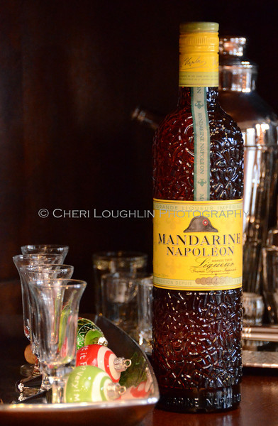 Mandarine Napoleon Liqueur - Cheri Loughlin Wine & Spirits Stock Photography
