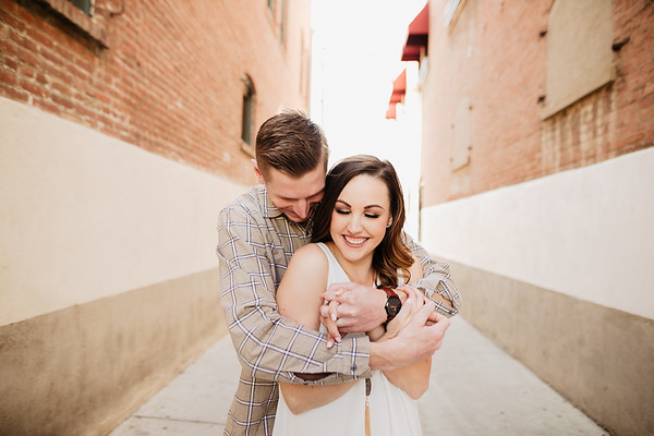 Morgan and Kyle Engagement | Oak Canyon Nature Center