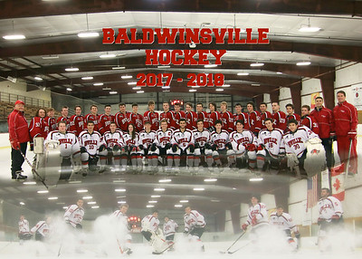 2017 -2018 bville hockey team