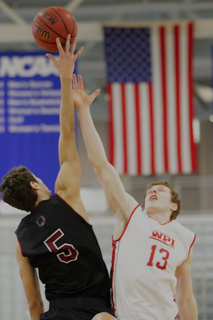 MIT-WPI Men's Basketball Feb. 27, 2016