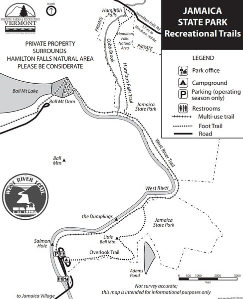 Jamaica State Park (Trails)