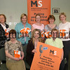 MS Society, Newry Branch, Hold a Health Awareness Evening, Photo, front l-r, Janet Williamson (chairperson N&M ,MS society), Susan Carey (branch Co-Ordinator), Patricia Aiken (vice chair ms society). back l-r, Madelene Archer, Paula Smith, Gwen Carville, Monica Mc Ateer and Ashley Moffett (speakers). 06W26N55