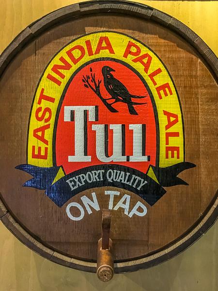 Halt bei der TUI-Brauerei in Mangatainoka