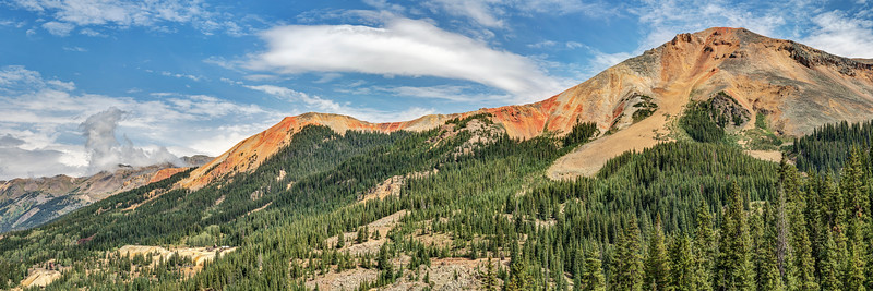 Red Mountain Pass Panorama