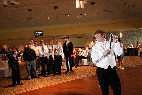 Roach - Bouquet and Garter Toss