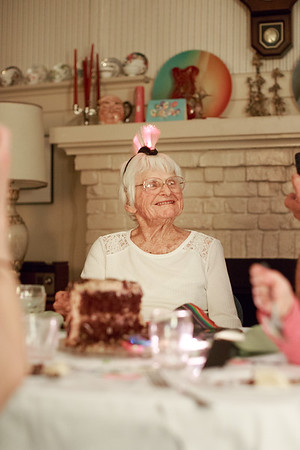 Marge's 96th Birthday
