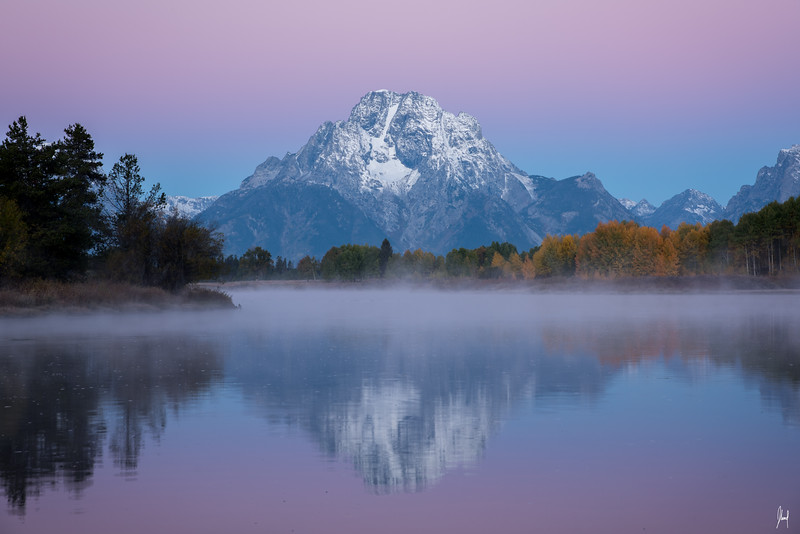 Oxbow Bend Grand Teton National Park, Wyoming