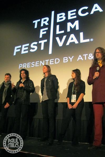 Scot McFadyen, Alice Cooper, Sam Dunn, & Reginald Harkema
