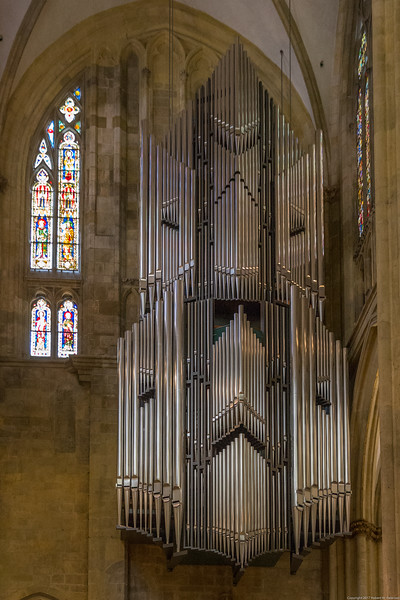 Regensberg Cathedral's Organ Pipes